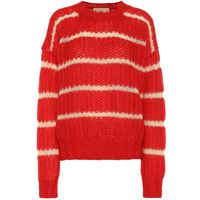 Plan C pullover a righe in misto mohair