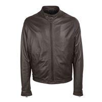 TAGLIATORE giacca outerwear uomo grahamrui1901tmoro pelle marrone