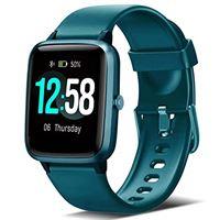 Blackview orologio fitness smartwatch uomo donna, Blackview fitness tracker con cardiofrequenzimetro sleep monitor per android i. Phone huawei samsung xiaomi, impermeabile 5atm orologio sportivo