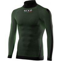 Sixs lupetto intimo termico sportivo traspirante 4 seasons - dark green ts3 | sixs