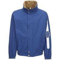 GUCCI giacca reversibile in cotone e nylon con cappuccio