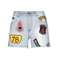 PHILIPP PLEIN - shorts jeans