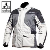 BEFAST giacca moto touring befast bolt ce certificata 3 strati nero grigio