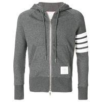 Thom Browne felpa con cappuccio - grigio