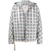 OAMC giacca a quadri - di colore blu