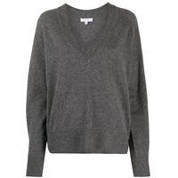 Equipment maglione con scollo a v madalene - grigio