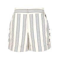 Monse shorts a righe - bianco