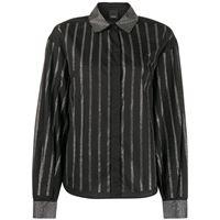 Pinko camicia con decorazione - nero