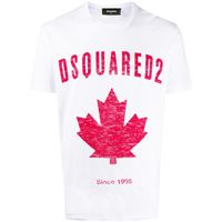 Dsquared2 t-shirt con stampa - bianco