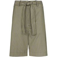 Plan C shorts con cintura - giallo
