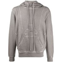 A-COLD-WALL* felpa con cappuccio diesel red tag x a-cold-wall* - grigio