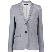Piazza Sempione blazer avvitato - grigio