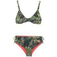 Lygia & Nanny marcela printed bikini set - verde
