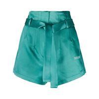 Off-White shorts con stampa - verde