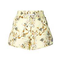 Off-White shorts a fiori - giallo