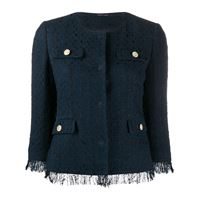 Tagliatore giacca crop meg - blu