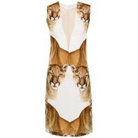 Gloria Coelho abito leoa - bianco