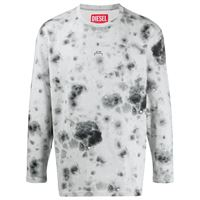 A-COLD-WALL* felpa a fantasia tie dye diesel red tag x a-cold-wall* - grigio