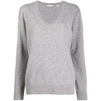 Vince maglione con scollo a v - grigio