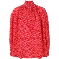 Miu Miu blusa con fiocco - rosso