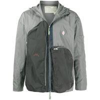 A-COLD-WALL* giacca leggera con pannelli a contrasto - grigio