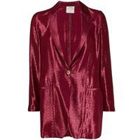 Forte Forte blazer monopetto - di colore rosso