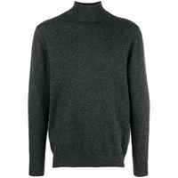 N.Peal maglione a collo alto - grigio