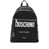 Moschino zaino Moschino couture!- nero