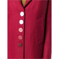 Marco De Vincenzo cappotto mono petto - rosso