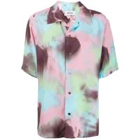 AMBUSH camicia con fantasia tie dye - rosa