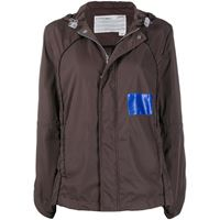 A-COLD-WALL* giacca con dettaglio cut-out - marrone