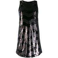 Emporio Armani abito con decorazione - nero