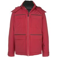Aztech Mountain giacca impermeabile - rosso