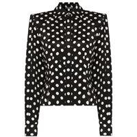 Dolce & Gabbana blusa a pois paddy - nero
