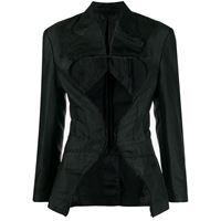 Comme Des Garçons giacca con cut-out - nero