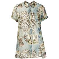 F.R.S For Restless Sleepers blusa con stampa