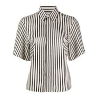 AMI Paris camicia a maniche corte - nero