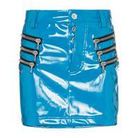 UNRAVEL PROJECT minigonna con tasche - blu