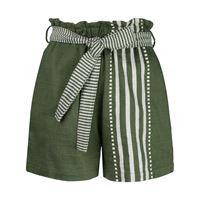lemlem shorts a vita alta eshe - verde