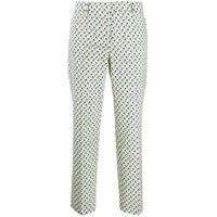 Prada pantaloni a fiori - giallo