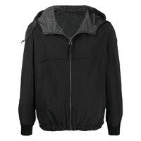 Salvatore Ferragamo - giacca reversibile - men - cotone/poliammide/poliestere - 48, 50, 46, 52, 54, 56 - di colore nero