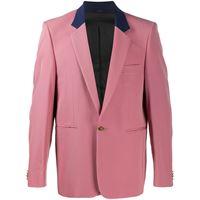 Paul Smith - giacca da abito - men - cotone/cupro/lana - 52 - di colore rosa