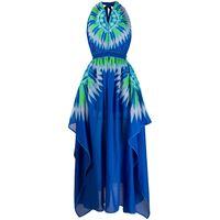 Emilio Pucci abito con stampa astratta - blu