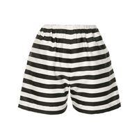 Bambah shorts a righe arayas - nero