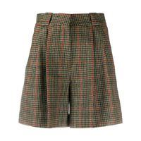 Blazé Milano shorts a quadri - verde