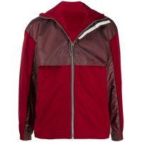 A-COLD-WALL* giacca con design color-block - rosso