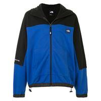 The North Face felpa con zip - blu