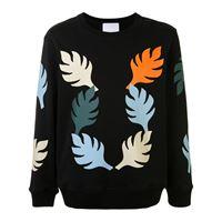 Ports V maglione con stampa - nero