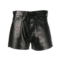 Saint Laurent shorts slim - nero