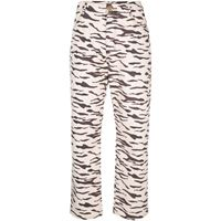 Rejina Pyo pantaloni con stampa - toni neutri